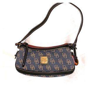 Dooney & Bourke Denim Mini Shoulder Bag